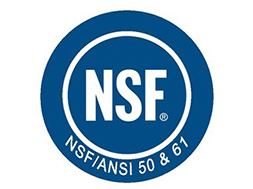 NSF/ANSI 61 Certification